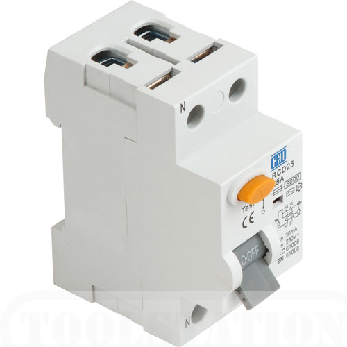 RCD protection types AA Electrical Services